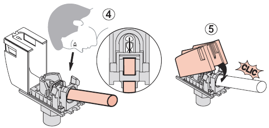 Схема монтажа розетки Legrand