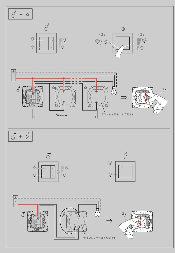 Схема подключения диммера
